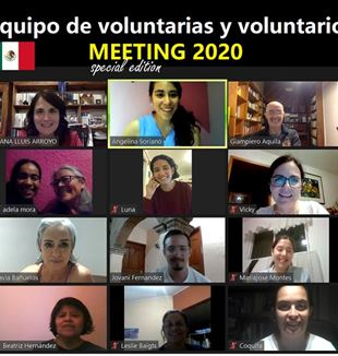 Voluntarios del Meeting en México
